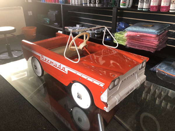 Raffle Of Tri-ang Bermuda 1960's Pedal Car For Charity