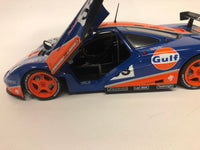 McLaren F1 GTR . Gulf Livery . Solido . 1/18 Scale. New & Boxed .