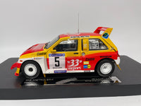 MG Metro 6R4 . '33 Export' . Sunstar . 1/18 Scale. Boxed .