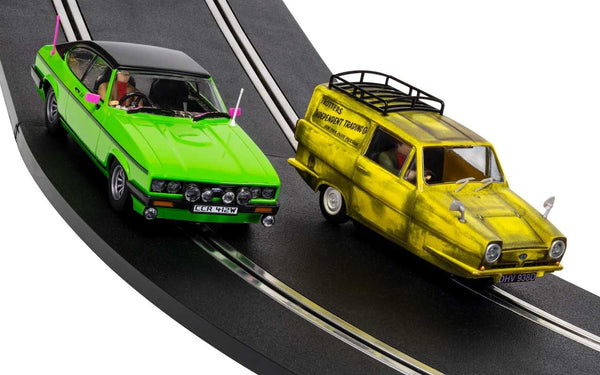 Only Fools And Horses Set . 3 Wheeler & Ford Capri . 1/32 Scalextric. New & Boxed . (C4179A)
