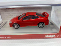 Honda Integra DC5 . Red . Inno64 . 1/64 Scale. Boxed