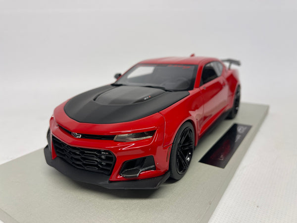 Chevrolet Camaro Hennessy Exorcist . LS Collectables  . 1/18 Scale. DAMAGED - Read Description.