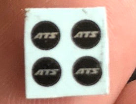 ATS Wheel Emblems For 1/18 Scale Wheel Sets