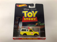 Toy Story Pizza Planet . Hotwheels. Realriders.