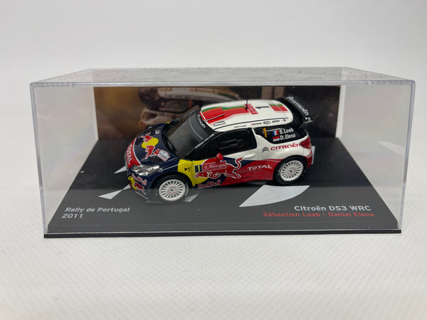 Citroen DS3 Rally Car WRC . Red Bull . 1/43 Scale. Boxed .