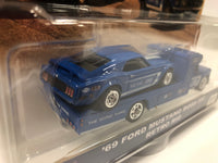 Ford Mustang Boss 302 Retro Rig . Hotwheels. Real Riders. Team Transport.