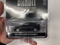 Ford Escort RS Cosworth . Black Bandit Racing. Greenlight . 1/64 Scale.