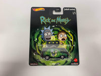 Dodge A100 . Rick And Morty. Hotwheels. Realriders.