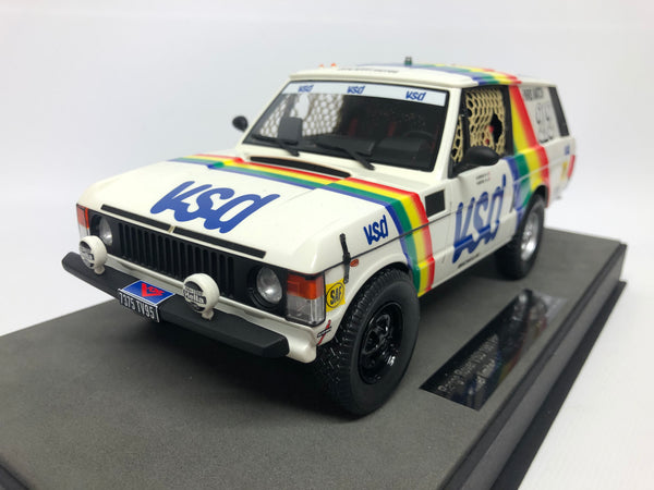 Range Rover Classic . VSD Paris Dakar. Top Marques .  1/18 Scale. Boxed