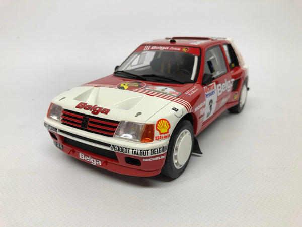Peugeot 205 T16 . Belga Rally Car . Otto. 1/18 Scale. Boxed .