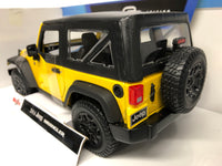 Jeep Wrangler 2014 . Maisto. 1/18 Scale. Boxed .