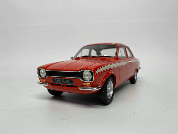 Ford Escort Mk1 Mexico. Red . Cult . 1/18 Scale. New & Boxed .
