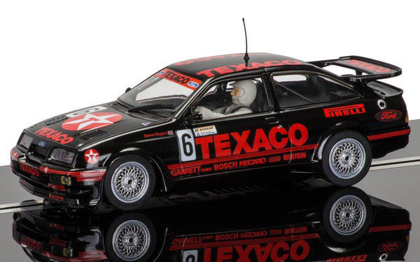 Ford Sierra Cosworth RS500 . BTCC . Texaco . Steve Soper . 1/32 Scalextric. New & Boxed . (C3738)