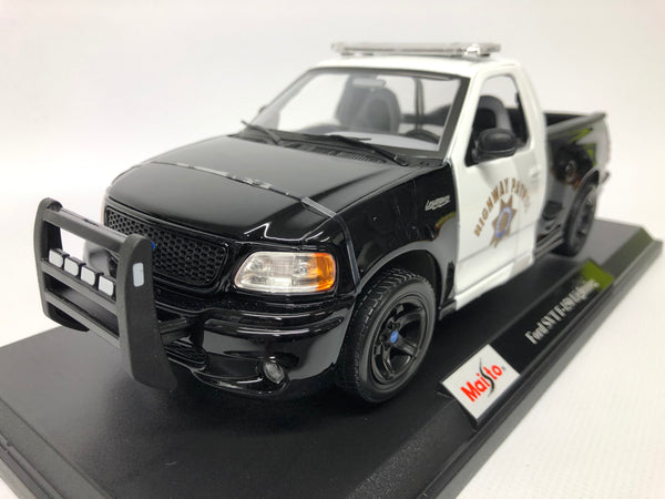 Ford SVT F-150 Lightning Police . Maisto. 1/18 Scale. Boxed .