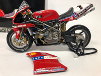 Ducati 998 R 2002. Troy Bayliss  . Minichamps . 1/12 Scale. Boxed .