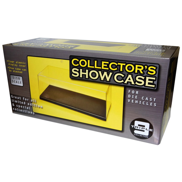 Display Case For 1/18 Scale Models. Stackable. Triple9. New And Boxed .
