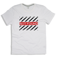 "Load image into Gallery viewer, T-Shirt Cotton ""NOT FOUND"""