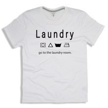 "Load image into Gallery viewer, T-Shirt Cotton ""Laundry"""