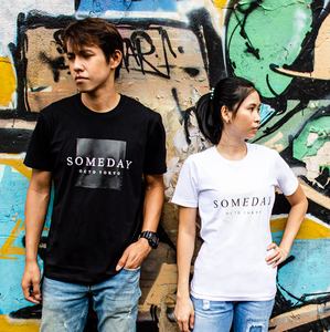 "T-Shirt Cotton ""SOMEDAY"""