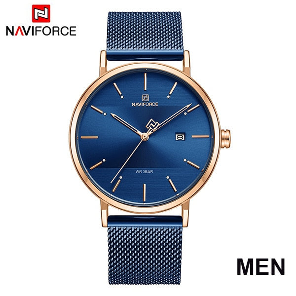 Luxury NAVIFORCE Lover's Watches for Men and Women