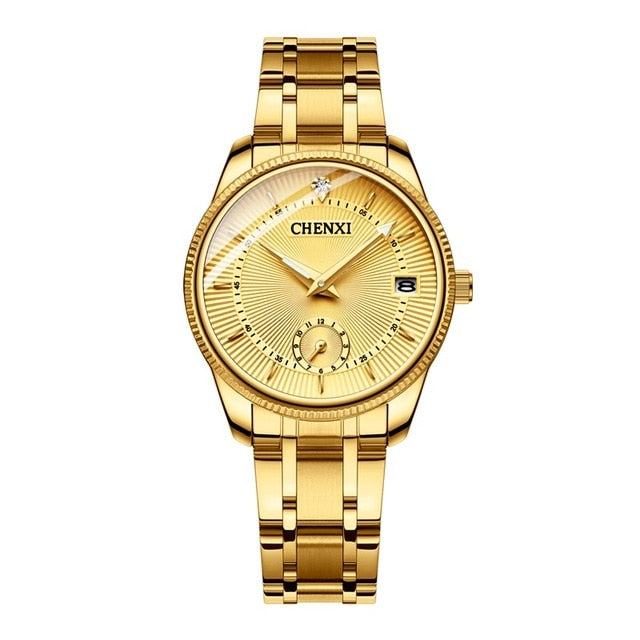 Gold Wrist Watch Watches For Lover's Fashion