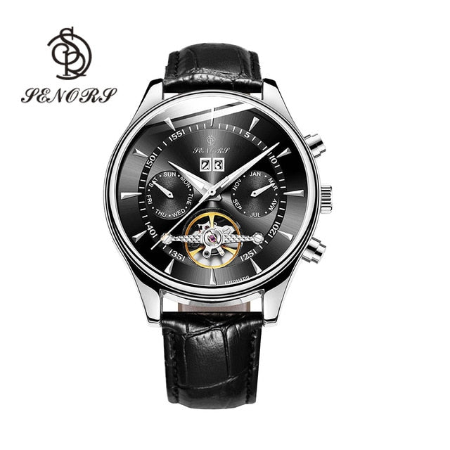 Senors Automatic Luxury Men Watches Waterproof