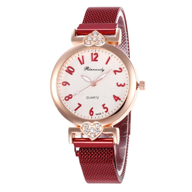 New Classic Rose Gold Women Watches