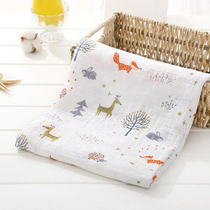 Pack of 2 muslin baby swaddle Blankets