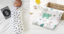 Load image into Gallery viewer, Pack of 2 Assorted Swaddle Blankets