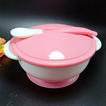 Load image into Gallery viewer, Suction baby food bowl