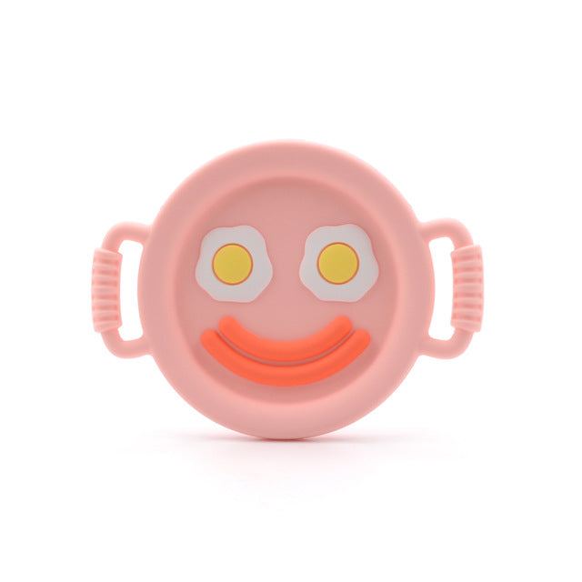 INTERACTIVE TOY: By activating the massage mechanism baby begins to learn cause and effect