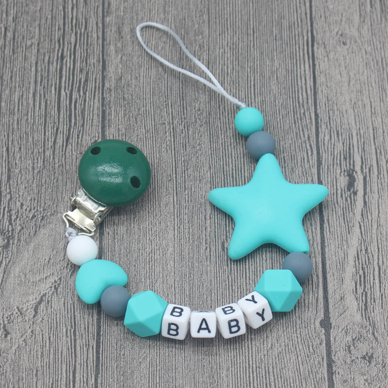 Personalised Handmade Pacifier Chains