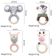 Load image into Gallery viewer, Handmade Crochet Teething set-3pcs