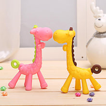 Load image into Gallery viewer, Giraffe teethers for babies