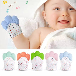 Teething mittens for babies