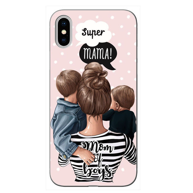 Super Mom phone covers