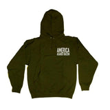 Forest Green America Against Racism Hoodie