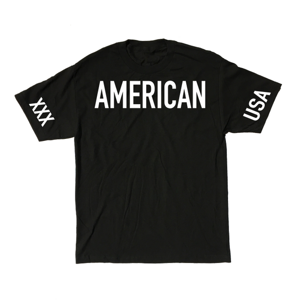 American Straight Edge Competition Shirt (Restocked!)