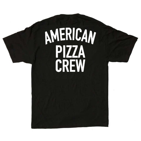 American Pizza Crew Black Shirt