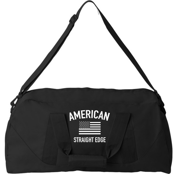 "Limited Black  23"" Duffel Bag (Made from Recycled Material)"