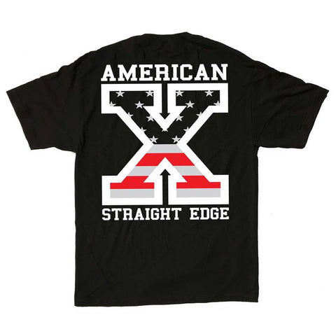 American Straight Edge Flag Shirt (Restocked!)