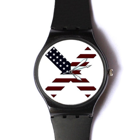 American Flag X Watch ($20 Sale)