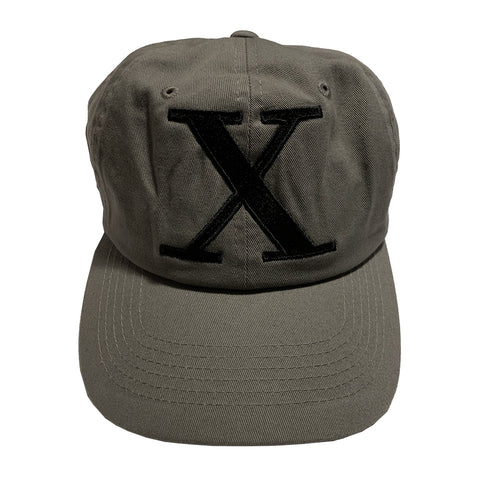 Grey X Dad Hat (RESTOCKED!)