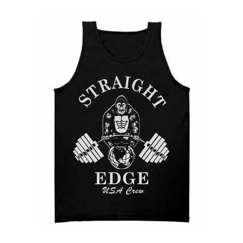 Straight Edge Gym Tank Top