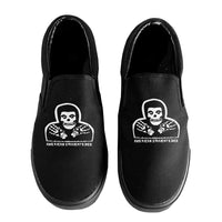 Black ASE Slip-On Shoes