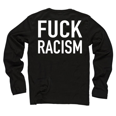 Anti-Nazi Black Long Sleeve Shirt (New!)