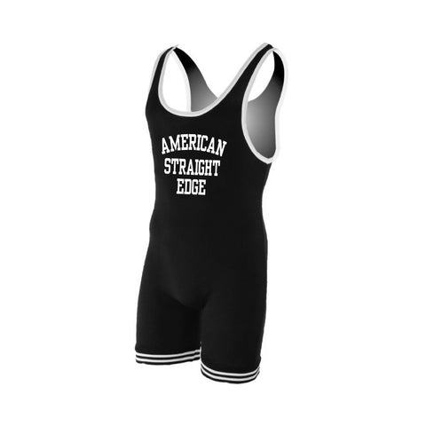 American Straight Edge Lifting Singlet (Made To Order)