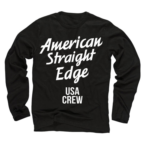 USA Crew Black Long Sleeve Shirt (Restocked!)