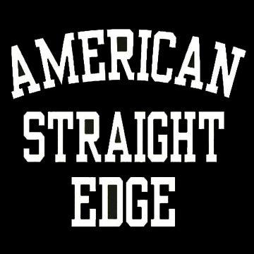 American Straight Edge Decals 5""