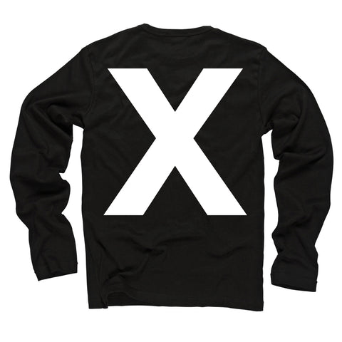 X Black Long Sleeve (Restocked!)